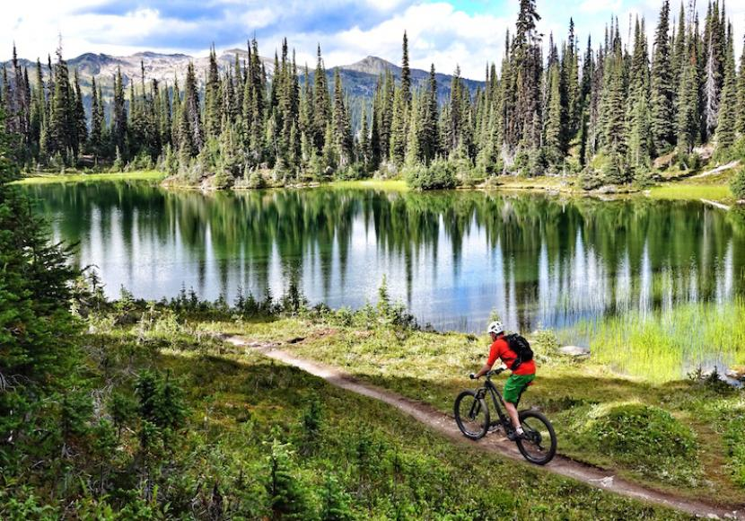 Mountain Biking Trail Features